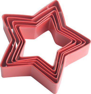 Trudeau St/5 Star Cookie Cutter(Pack of 5)