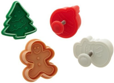 Ateco 1993 Ateco Christmas Plunger Cutters Cookie Cutter