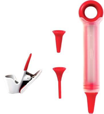 XEEKART Baking Decor Pen(Red, White)