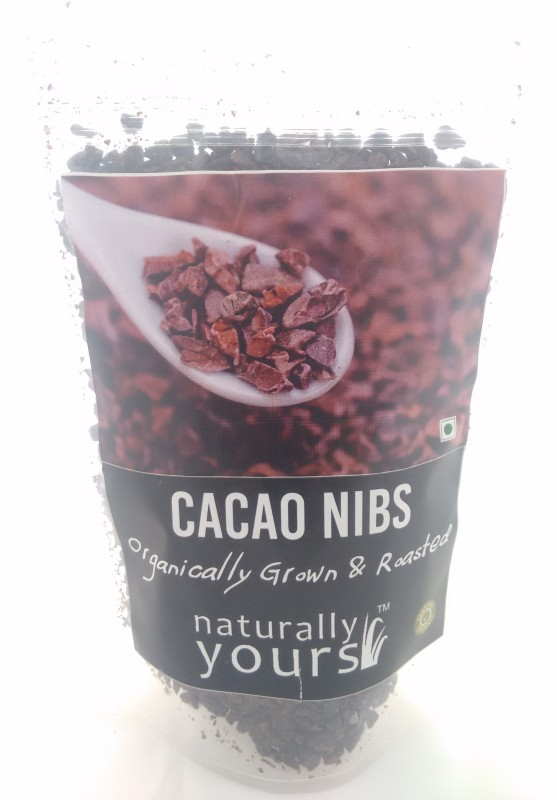 Naturally Yours Organic Cacao Nibs Tidbits (baking chips)(100 g Chocolate Pack of 1)
