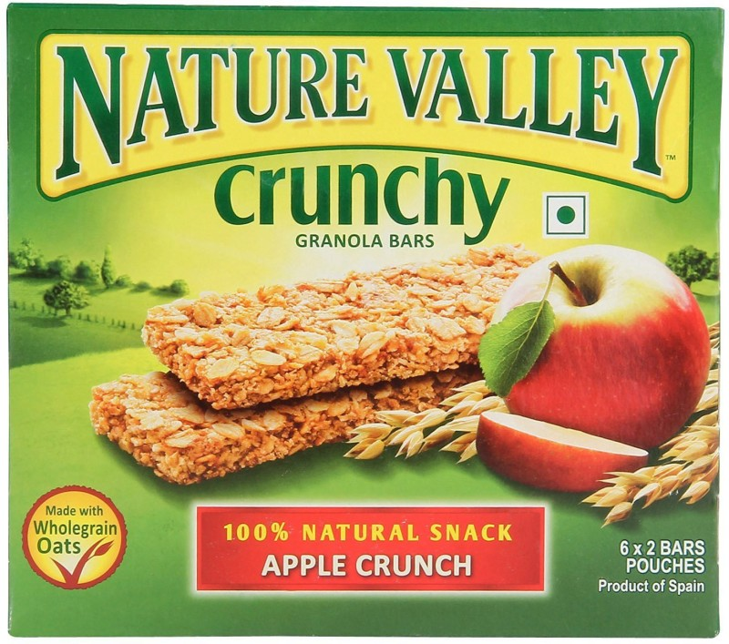 Pillsbury Nature Valley Crunchy Granola Bars, Apple Crunch Baking Powder(Solid)
