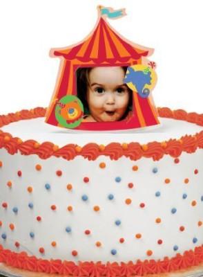 Wilton Edible Cake Topper(Red)