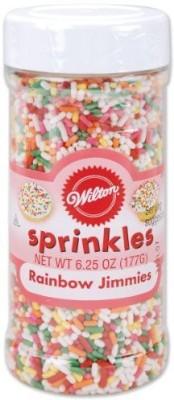 Wilton Edible Baking Sprinkles(Multicolor Pack of 1)