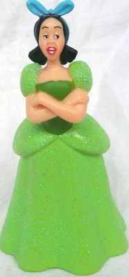 Disney Cinderellas Step Sister Drizella Figure Doll Cake Topper(Green Pack of 1)