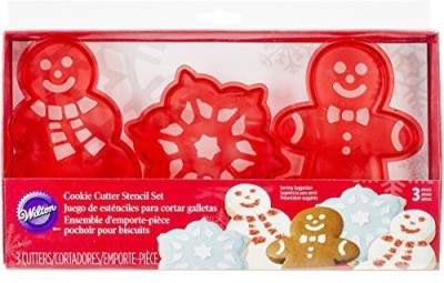 Wilton Cookie Stencil(Pack of 3)