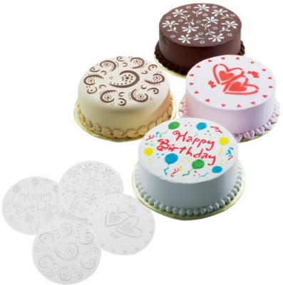 Haven Cake Top Stencil(Pack of 4)