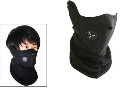Speedwav Black Bike Face Mask for Men