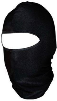 Retina Black Bike Face Mask for Men