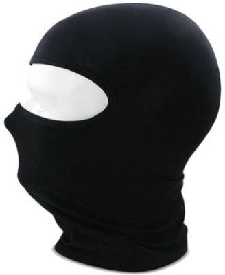 Auto Sun Black Bike Face Mask for Men(Size: Free,  Balaclava)