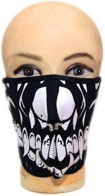 ACCESSOREEZ Multicolor Bike Face Mask for Men