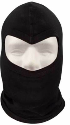 Auto Hub Black Bike Face Mask for Men & Women