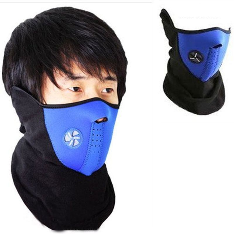 Psylane Blue Bike Face Mask for Boys & Girls(Size: Free,...