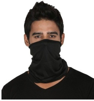 Empower Earth Black Bike Face Mask for Men & Women