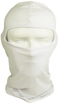 BikeNwear Beige Bike Face Mask for Men & Women(Size: Free,  Balaclava)