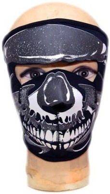 ACCESSOREEZ Black, White, Grey Bike Face Mask for Men & Women