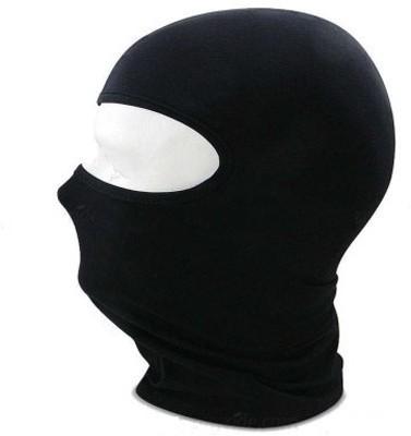 Leebo Black Bike Face Mask for Men & Women