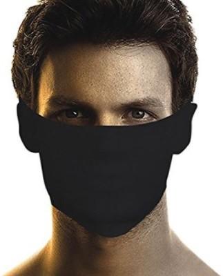 FloMaster Black Bike Face Mask for Boys