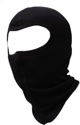 ACCESSOREEZ Black Bike Face Mask for Men & Women
