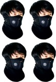 Red Bravo'S Black Bike Face Mask for Men...