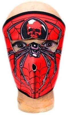 ACCESSOREEZ Red, Black Bike Face Mask for Men & Women
