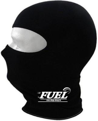Fuel Black Bike Face Mask for Men & Women
