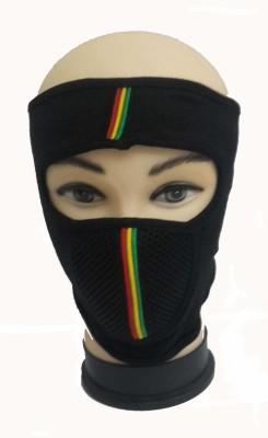 Babji Black Bike Face Mask for Men & Women