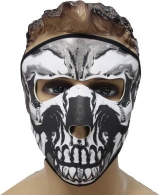 Psylane Black, White Bike Face Mask for Men & Women(Size: Free,  Balaclava)