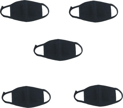 atyourdoor Black Bike Face Mask for Boys