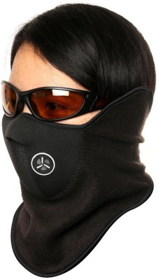 Elite Mkt Black Bike Face Mask for Boys & Girls