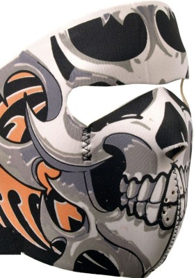 Psylane Multicolor Bike Face Mask for Men & Women