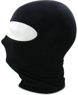 Xenonwisemart Black Bike Face Mask for Men(Size: XL,  Balaclava)