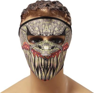 Psylane Multicolor Bike Face Mask for Men & Women(Size: Free,  Balaclava)