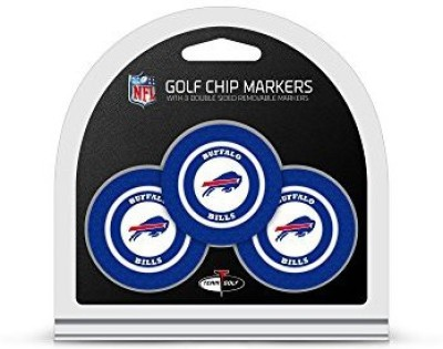 Team Golf Magnetic Divot Tool Golf Ball Marker(Set of 3)