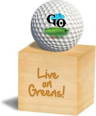 ezyPRNT GO Golf Ball - Size: 4, Diameter: 4.26 cm(Pack of 1, White)