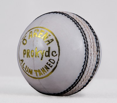 Prokyde Arena White Cricket Ball Cricket Ball - Size- 4, Diameter- 2.5 cm