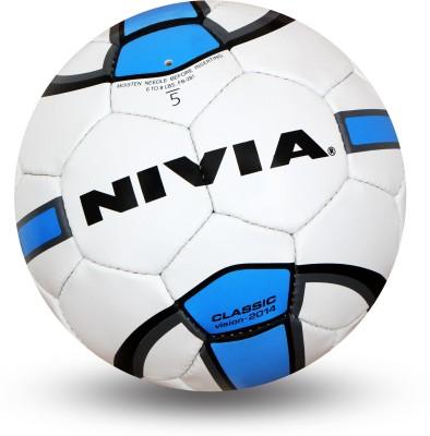 Nivia Classic Football -   Size: 5,  Diameter: 22 cm