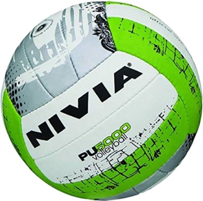 Nivia PU-5000 Volleyball - Size: 4, Diameter: 2.5 cm(Pack of 1, Multicolor)