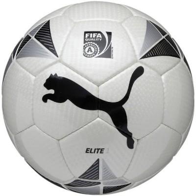 Puma Elite 1 Football - Size: 5, Diameter: 22 cm(Pack of 1, White, Black)