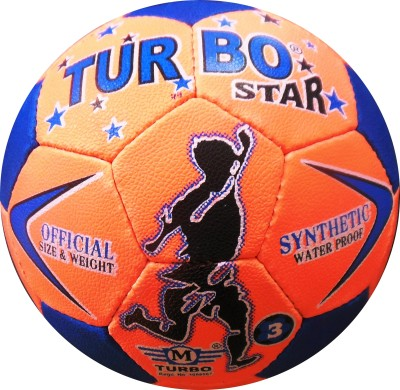 TURBO STAR SYNTHETIC Football -   Size: 3,  Diameter: 3.5 cm