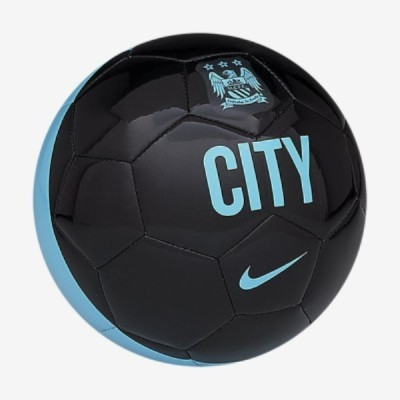 Nike Manchester City Fc Supporter Football -   Size: 5,  Diameter: 22.5 cm(Pack of 1, Black, Blue)
