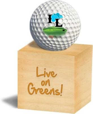 ezyPRNT IL Golf Ball - Size: 4, Diameter: 4.26 cm(Pack of 1, White)