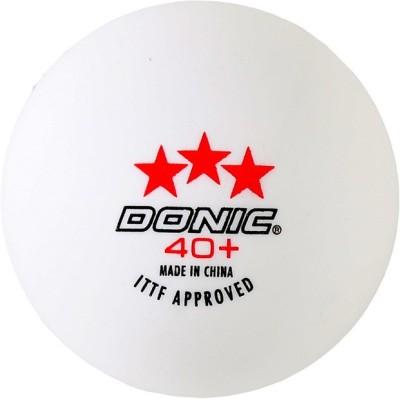 Donic 3 Star Ping Pong Ball -   Size: 3,  Diameter: 3.9 cm