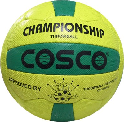 Cosco Championship Throw Ball -   Size: 5(Yellow)