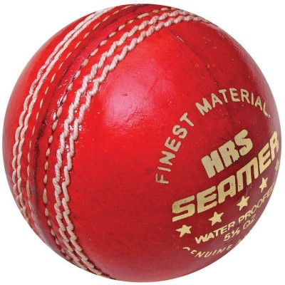 HRS Seamer Red Cricket Ball -   Size: Full,  Diameter: 7 cm