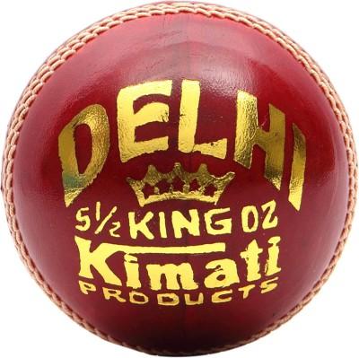Kimati Delhi King Cricket Ball -   Size: NA,  Diameter: 6.5-6.75 cm