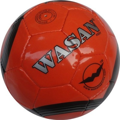 Wasan Kiddy Football - Size: 3(Pack of 1, Orange)