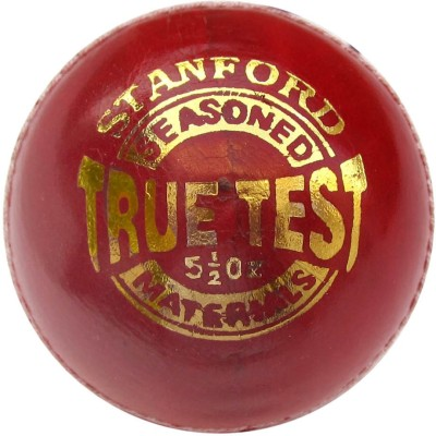 SF True Test Leather Cricket Ball -   Size: 5.1/2,  Diameter: 1.5 cm