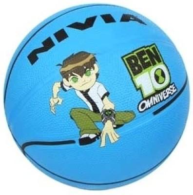 Nivia BEN10 Omniverse Basketball -  Size: 7(Sky Blue)
