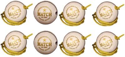 Priya Sports Practice White Cricket Ball -   Size: 5,  Diameter: 2.5 cm