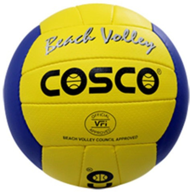 Cosco Beach Volleyball -   Size: 4,  Diameter: 65 cm(Pack of 1, Multicolor)